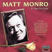 Monro, Matt, Time for Love, Audio CD