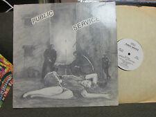 PUBLIC SERVICE COMP LP '81 red cross redd kross rf7 kbd BAD RELIGION punk rare!