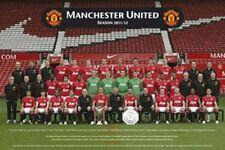 SOCCER POSTER Manchester United Team 2012