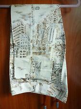 New Rafaella Women's Cotton/Stretch Capri Cropped Ankle Pants Beige Size 4