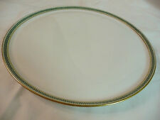 Rare Vtg Royal Doulton Tiffany & Co. White Round Platter Greek Key Border