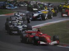 Poster Marlboro Ferrari F2001 2001 #1 Michael Schumacher (GER) Nürburgring