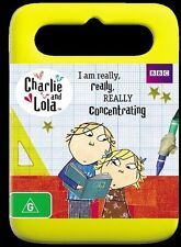 CHARLIE AND LOLA -I Am Really, Really, Really Concentrating (DVD 2012) BRAND NEW