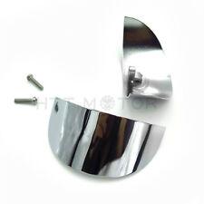 Burst Dish Bezels/&Smoked Turn Signal Lens For Harley  FLTR FLHR 86-13 14 15 16