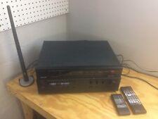 LuxmanTuner Preamplifier TP-117 + Surround Sound Processor F-116 with Remotes