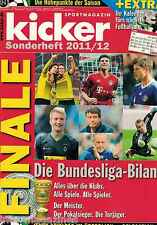 Magazin kicker Sonderheft - Bundesliga Finale Saison 2011/12,alle Klubs,Tore..