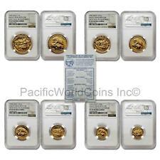 USA 1990 Great Seal of California 4 Coins Gold NGC PF69 UC Set with COA SKU#7050