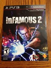 inFamous 2 (Sony PlayStation 3, 2009) PS3 Not For Resale.