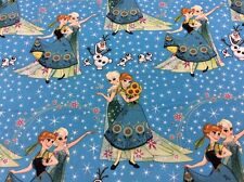 Springs Creative - Disney's Frozen - Sisters And Olaf Frozen Fever - Fabric