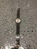 Skagen Denmark Titanium Mesh Band Date Watch 170LTTW