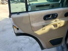 1999 2000 2001 2002 2003 2004 LAND ROVER DISCOVERY II LEFT REAR DOOR PANEL TAN