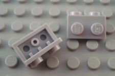 New LEGO Lot of 2 Light Bluish Gray 1x2 - 1x2 Bracket Pieces from 9463 9497 7346