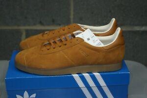 Mens Adidas Gazelle Craoch Gum Ecrtin Brown Sz 10.5 (BD7490)