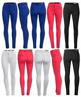 NEW WOMENS STRETCHY SKINNY JEANS LADIES JEGGINGS UK Size 6 - 16