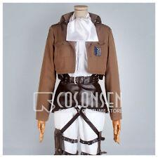 Cosonsen Attack on Titan Shingeki no Kyojin Scouting Legion Levi Cosplay Costume