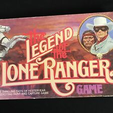 The Legend of the Lone Ranger Game TV Series Milton Bradley 1980 NEW Old Stock