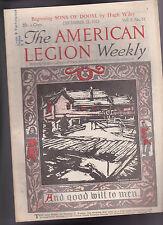 American Legion Magazine Norman Rampe  Cover December 21 1923