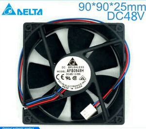 Delta AFB0948H 48V 0.09A 2.88W 9025 9cm 3-pin quiet double ball cooling fan