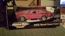 Ertl American Muscle Prostock Series 1971 Plymouth Duster Twister 1:18 Die Cast
