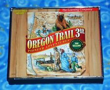 The Oregon Trail 3rd Edition PC CD Rom Video Game with 3 Discs Excellent Tested