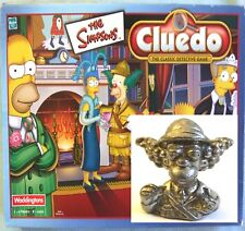 2001 Waddingtons THE SIMPSONS Cluedo Board Game Spare Part - Pewter KRUSTY Token