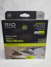 Rio InTouch Pike Musky Fly Fishing Line WF9F 9 Weight Floating Moss Yellow New