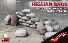 Miniart 35586 Hessian bags (Buildings & Accessories) plastic kit 1/35