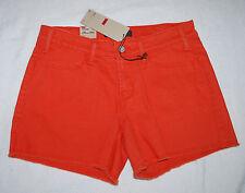 NWT - LEVIS Orange short shorts (6) MSRP $44