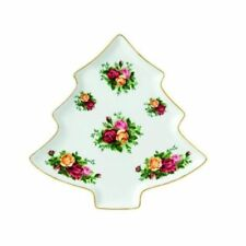 """Royal Albert Old Country Roses Ornament, Tree Tray 11"""""""