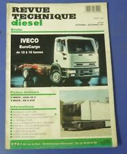 Revue technique diesel 190 1994 Iveco eurocargo de 12 à 15 tonnes