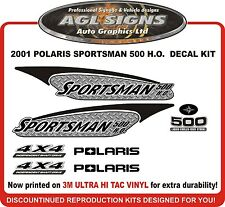 2001 POLARIS  Sportsman 500 H.O. 4X4 Decal kit   reproductions HO
