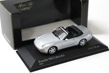 1:43 Minichamps Porsche 968 Cabriolet silver