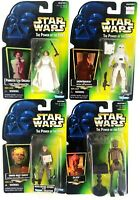 Star Wars Kenner POTF Tarkin, Ev 9D9, Snowtrooper, Leia 1997 Sealed