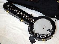 GOLD TONE BG-150F 5-string Bluegrass resonator BANJO w/ SPIKES + HARD CASE