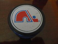 1980s QUEBEC NORDIQUES hockey puck made by VICEROY -CANADA*