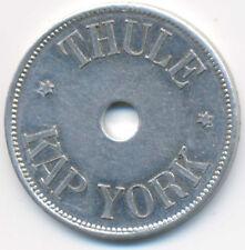 Greenland Thule - Kap York Aluminium 500 Ore 1910 XF+