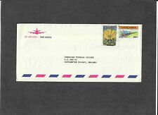 TANZANIA STAMPS-Comesa 300/- + Cactus 70s stamps,airmail to UK, 1997