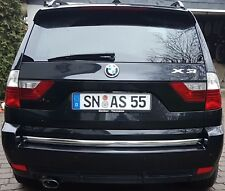 BMW X3 E83 - Chrom Zierleiste Heckleiste Heckklappe Chromleiste 3M Tuning 40MM