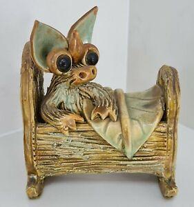 Yare Designs Dragon Studio Pottery - Baby in Crib / Cradle
