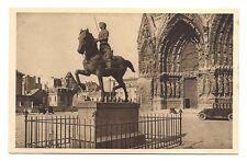 reims  statue  de jeanne-d'arc