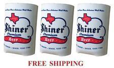 Spoetzl Brewery 3 Shiner Beer Can Coolers Koozie Coolie Huggie Coozie New