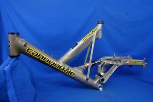 """2000 Cannondale Super V800 Full Suspension Mtn Bike Frame 19.5""""/Large *Cracked*"""