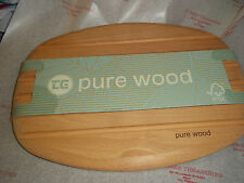 T&G Woodware Chopping boards Pure Wood  35cm long x 27cm wide BN