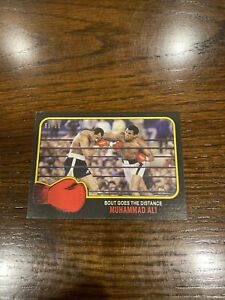 2021 TOPPS MUHAMMAD ALI THE PEOPLE'S CHAMP CARD #63 Black Parallel 56/56