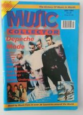 DEPECHE MODE Music Collector magazine 1991 cover and 7 page article