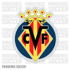 Villareal CF Spain Vinyl Sticker Decal Pegatina Calcomania Espana Submarino Liga
