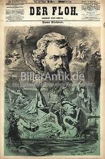 Hans Richter direttore d'orchestra Austria Ungheria Richard Wagner Jauner K & K della pulce 0124