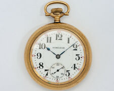 Antique 1919 Hamilton 16s 23j Adj. 950 Pocket Watch w/ NICE Case for Restoration