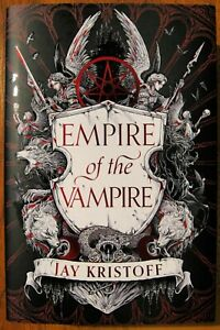 EMPIRE OF THE VAMPIRE - Jay Kristoff - HAND SIGNED 1/1 - HB - C