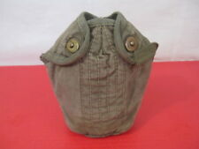 post-WWII US M1910 Style Canvas Canteen Cover w/Canvas Trim - Dutch Contract